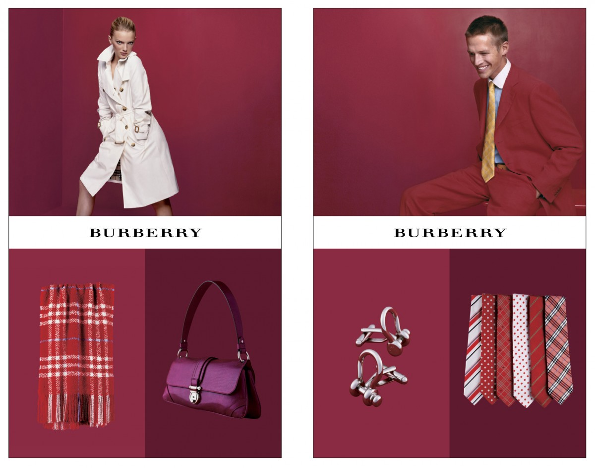 Burberry ads