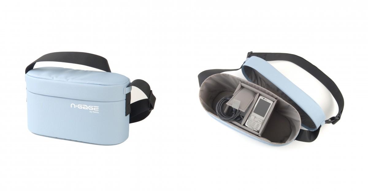 Grain Nokia N-Gage product shoulder bag
