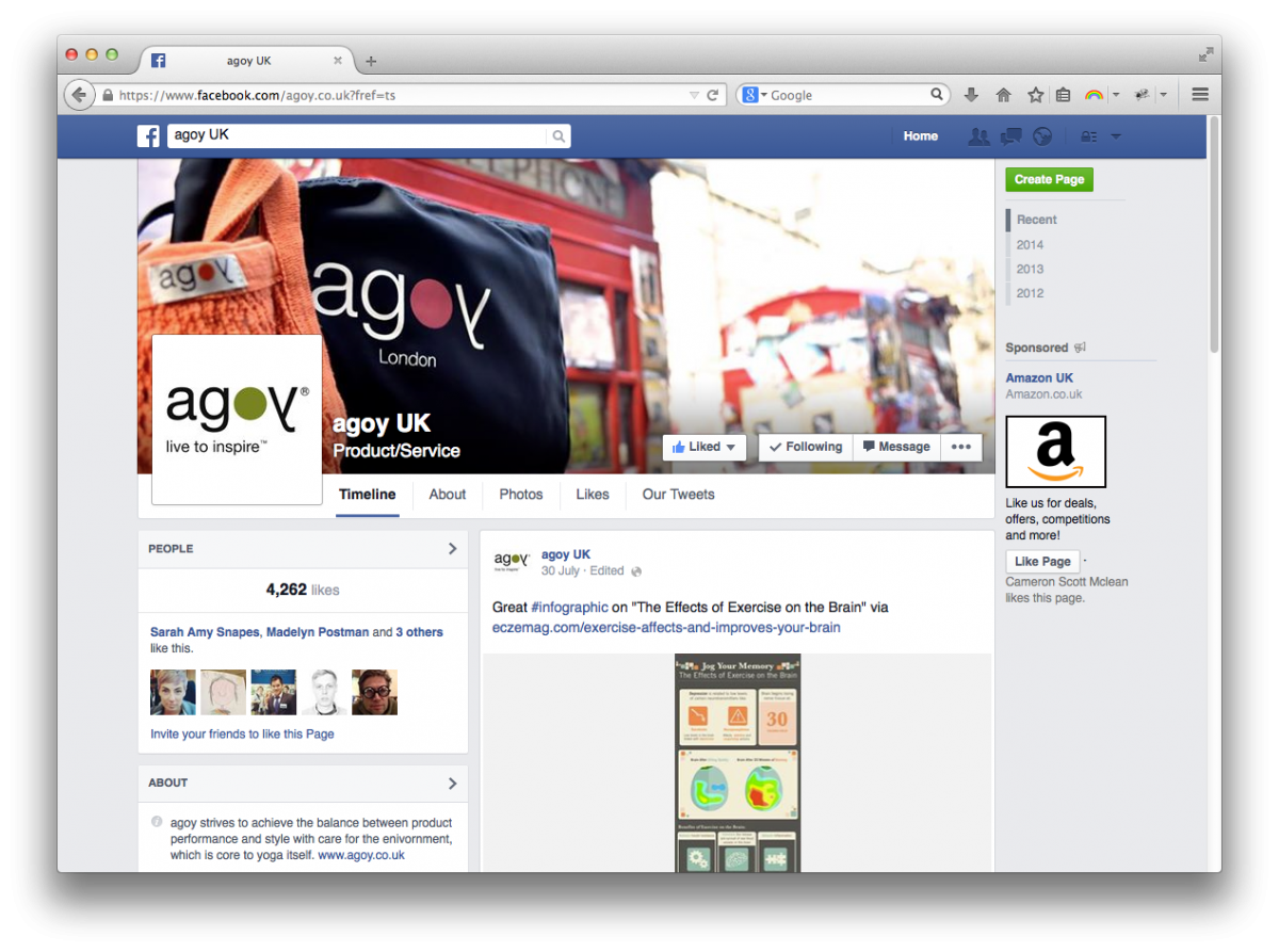 Agoy facebook